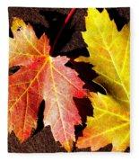 Colorful Pair Fleece Blanket