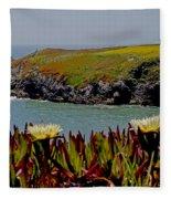 Colorful Point Fleece Blanket