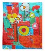 Colorful Summer  Fleece Blanket