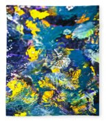 Colorful Tropical Fish Fleece Blanket