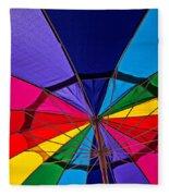 Colorful Umbrella Fleece Blanket