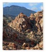 Colors In The Desert Fleece Blanket