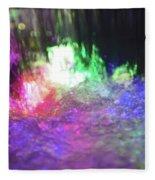 Colors Of The Rainbow  Fleece Blanket