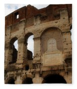 Colosseum 1 Fleece Blanket