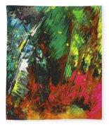 Colours Symphony Fleece Blanket