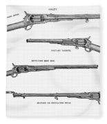 Colt Weapons, 1867 Fleece Blanket