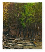 Columbia Bottoms Slough Fleece Blanket