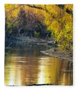 Columbia Bottoms Slough II Fleece Blanket