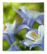 Columbine-1 Fleece Blanket