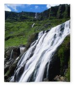 Comeragh Mountains, County Waterford Fleece Blanket