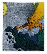 Comet Apocalypse, 1857 Fleece Blanket