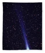 Comet Hyakutake Fleece Blanket