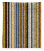 Comfortable Stripes Vlll Fleece Blanket