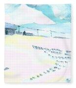 Coming Home Fleece Blanket