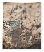 Common Checkered Skipper 8793 3421 Fleece Blanket