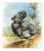 Common Dodo Fleece Blanket