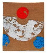 Composition Auto Fleece Blanket
