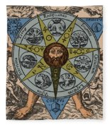 Concerning The Philosophical Stone, 1678 Fleece Blanket