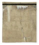 Concrete And Metal Fleece Blanket