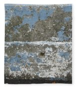 Concrete Blue 2 Fleece Blanket