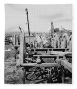 Confederate Cannon Fleece Blanket