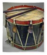 Confederate Drum Fleece Blanket