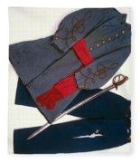 Confederate Uniform Fleece Blanket