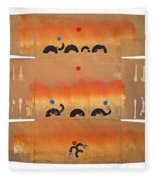 Conflagration Fleece Blanket