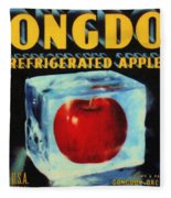 Congdon Refrigerated Apples Fleece Blanket