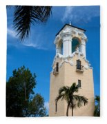 Congregational Church Of Coral Gables Fleece Blanket