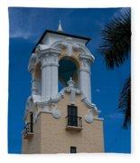 Congregational Church Tower Fleece Blanket