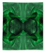 Conjoint - Emerald Fleece Blanket