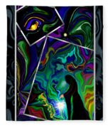 Conjurer Of Dreams And Delusions Fleece Blanket