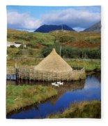 Connemara Heritage And History Centre Fleece Blanket