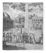 Constantinople, 1727 Fleece Blanket
