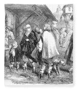 Constantinople, 1854 Fleece Blanket