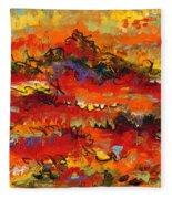 Contemporary Art Twenty Fleece Blanket