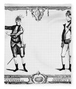 Continental Army Fleece Blanket