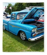 Cool Blues Classic Truck Fleece Blanket