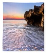 Coquillage Fleece Blanket