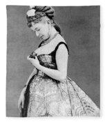 Cora Pearl C1835 1886 Fleece Blanket