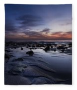 Coral Mirror Fleece Blanket