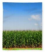 Corn Row Fleece Blanket