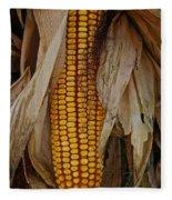 Corn Stalks Fleece Blanket