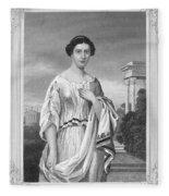 Cornelia (fl. 2nd Century Fleece Blanket