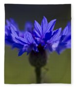Cornflower Blue Fleece Blanket