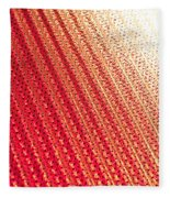 Corrugated Metal Fleece Blanket