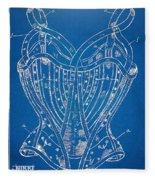 Corset Patent Series 1905 French Fleece Blanket