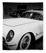 Corvette 55 Convertible Fleece Blanket