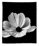 Cosmo Black And White Fleece Blanket